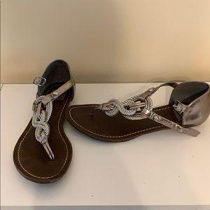 Dolce vita Angie silver flash Stella sandal